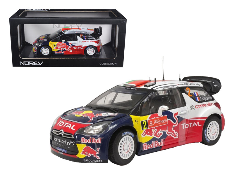 Citroen DS3 #2 WRC 2011 Winner Rally Portugal 1:18 Diecast Model
