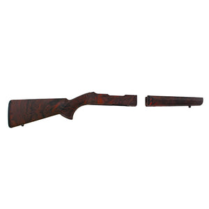"Hogue Ruger 10/22 Takedown Thumbhole .920"" Barrel Stock Red Lava - 21052"