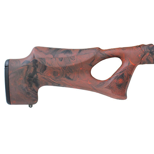 "Hogue Ruger 10/22 Takedown Thumbhole .920"" Barrel Stock - Red Lava 21072"