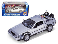 Delorean From Movie Back To The Future II 1:24 Diecast Model