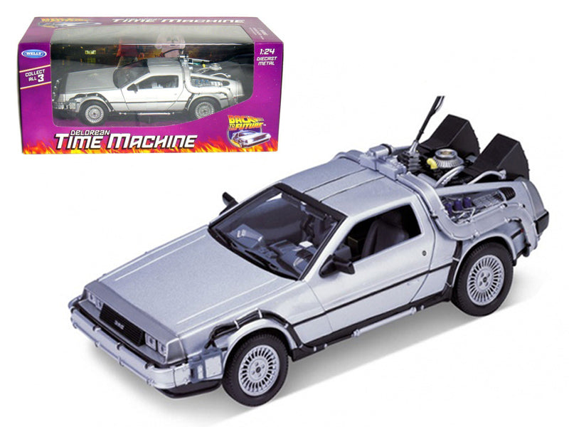 Delorean From Back To The Future 1:24 Diecast Model