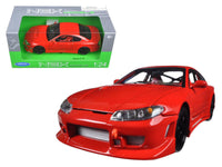 Nissan S-15 RHD Red 1:24 Diecast Model
