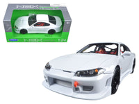 Nissan S-15 RHD White 1:24 Diecast Model