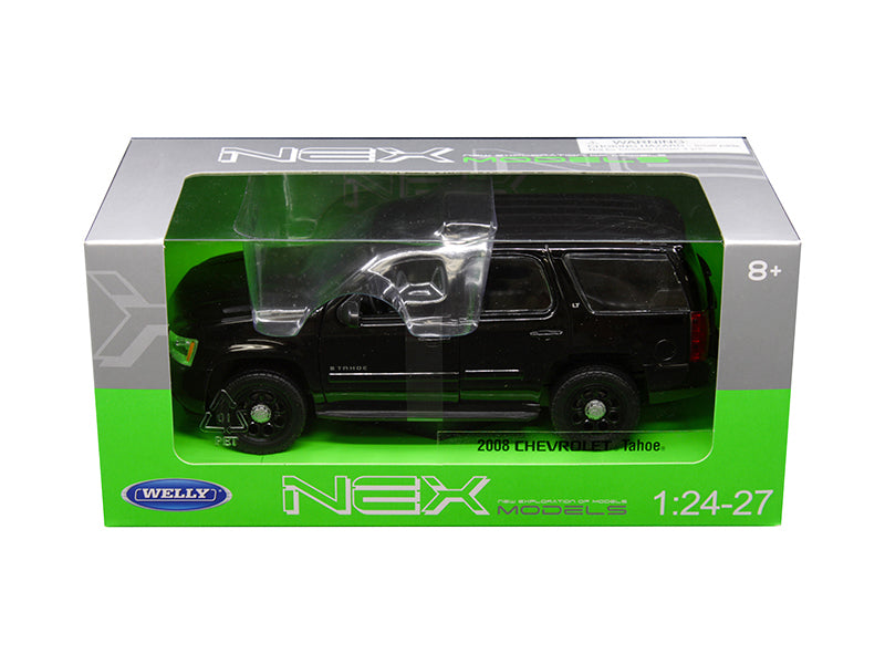 2008 Chevrolet Tahoe Unmarked Police Version Black 1:24 - 1:27 Model