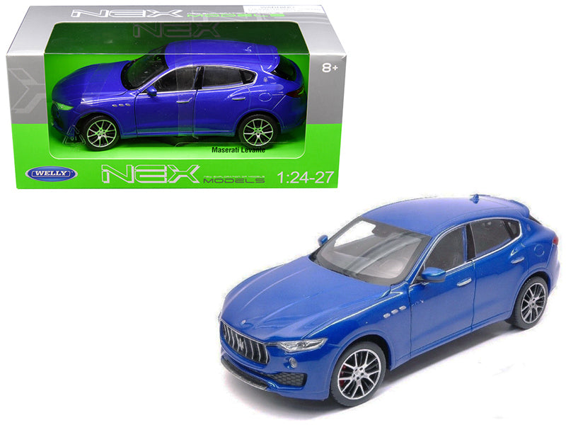 Maserati Levante Blue 1:24 - 1:27 Diecast Model