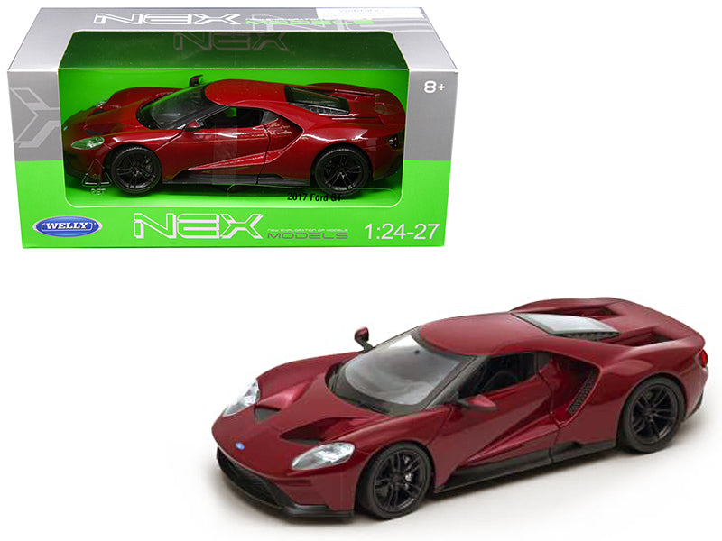 2017 Ford GT Red 1:24 - 1:27 Model