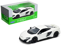 McLaren 675LT Coupe White 1:24 Diecast Model