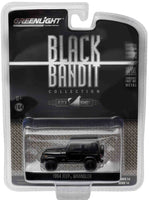 1994 Jeep Wrangler Black Bandit 1:64 Diecast Model