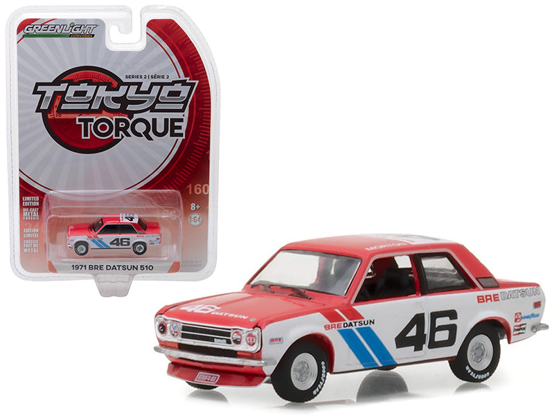 1971 BRE Datsun 510 Brock Racing Enterprises #46 1:64 Diecast Model