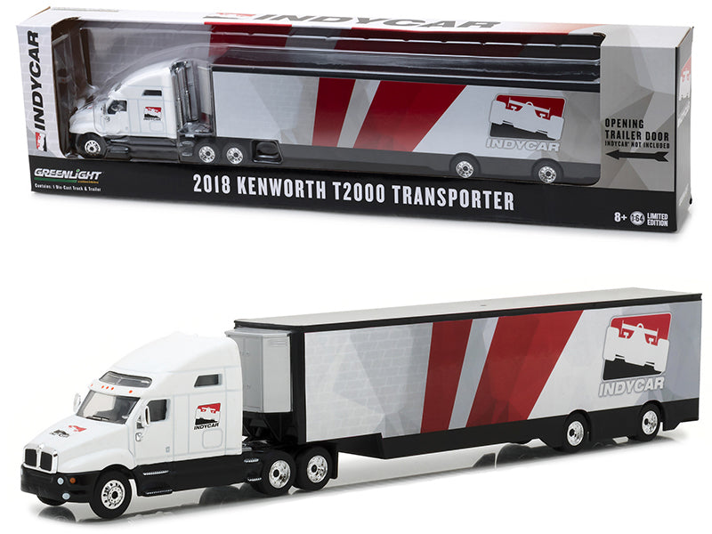 2018 Kenworth T2000 IndyCar Series Transporter 1:64 Model