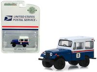 1971 Jeep DJ-5 USPS Truck 1:64 Model - Greenlight Hobby Exclusive - 29998