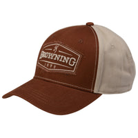 Browning Atlus Ball Cap - Brick Brown - 308398721