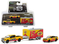 2015 Ford F-150 & Shelby Mustang GT500 Pennzoil 1:64 Model - Greenlight - 31050C