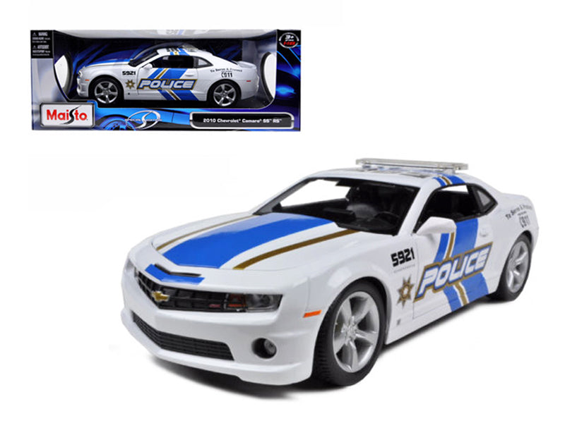 2010 Chevrolet Camaro RS SS Police 1:18  Diecast Model