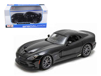 2013 Dodge Viper SRT GTS Black 1:24 Diecast Model