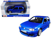 Volkswagen Golf R32 Blue 1:24 Diecast Model