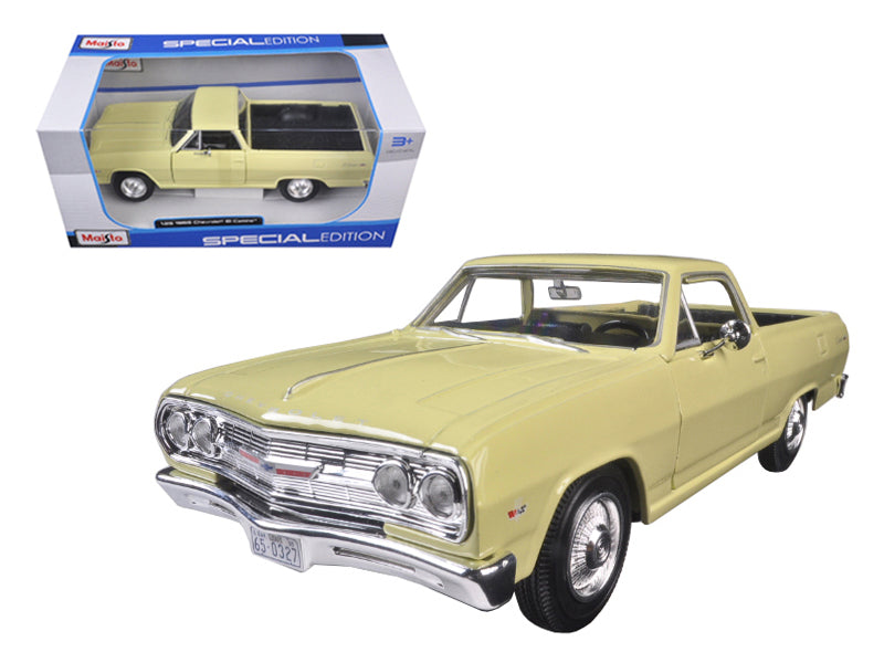 1965 Chevrolet El Camino Yellow 1:25  Diecast Model