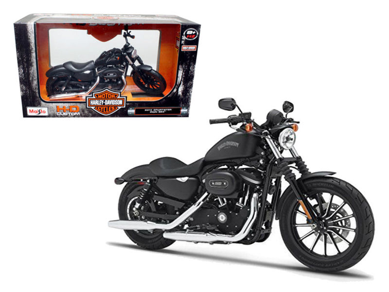 2014 HARLEY DAVIDSON Sportster Iron 883 Motorcycle Model 1:12 - 32326