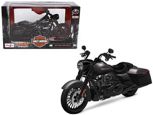 2017 Harley Davidson King Road Special Black Motorcycle Model 1:12 Scale - Maisto - 32336