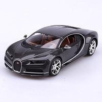 Bugatti Chiron Grey Special Edition 1:24 Diecast Model *