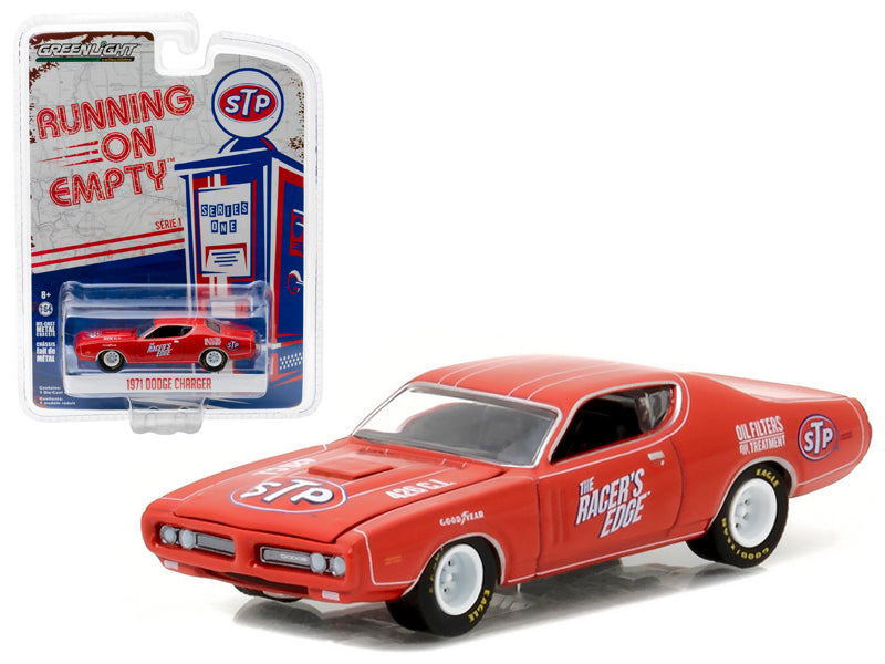 1971 Dodge Charger STP 1:64 Diecast Model