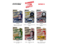 Running on Empty Series 5 Six Piece Set 1:64 Diecast Models