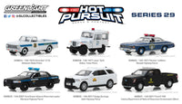 Hot Pursuit Series 29 - Set of 6 Cars 1:64 Diecast Models - Greenlight - 42860