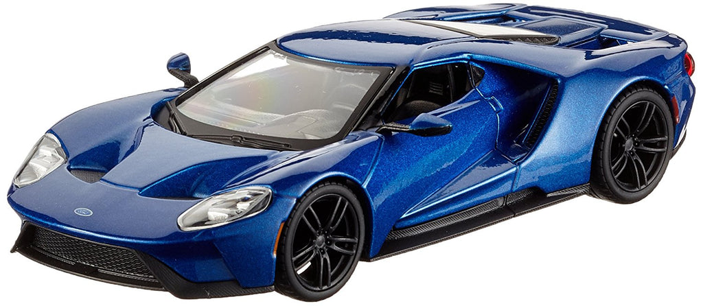 2017 Ford GT Blue 1:32 Bburago Diecast Model - 43043BL