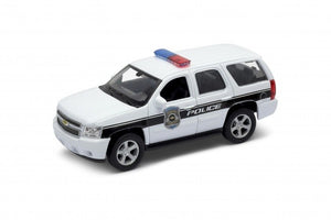 "2008 Chevy Tahoe Police White 4.5"" Diecast Model"