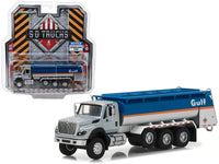 2018 International WorkStar Gulf Oil Tanker Truck S.D Trucks Series 1:64 Scale