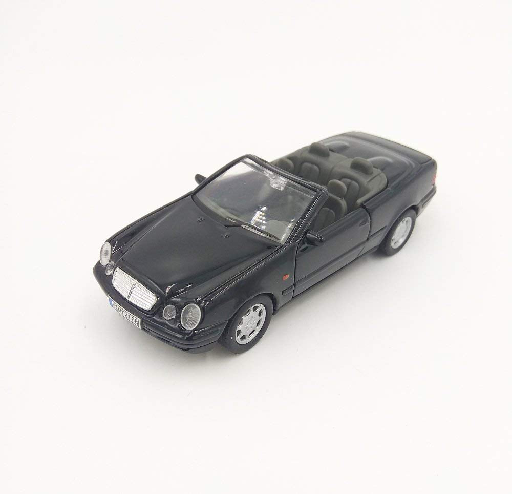 Mercedes Benz CLK 230 Convertible Black 1:32 Diecast Model - Welly - 49745BK