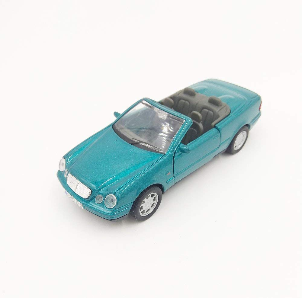Mercedes Benz CLK 230 Convertible Green 1:32 Diecast Model - Welly - 49745GRN
