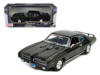 1969 Pontiac GTO Judge Black 1:18 Model