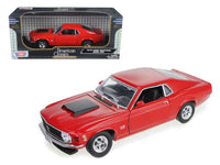 1970 Ford Mustang Boss 429 Red 1:18 Diecast Model - 73154r