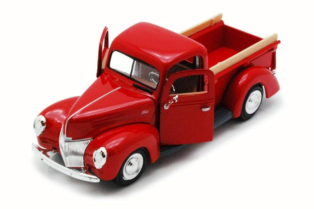 1940 Ford Pickup Red 1:24 Diecast Model