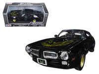 1973 Pontiac Firebird Trans Am Black with Gold Wheels 1:24 Model