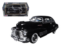 1948 Chevrolet Aerosedan Fleetline Black 1:24 Diecast Model