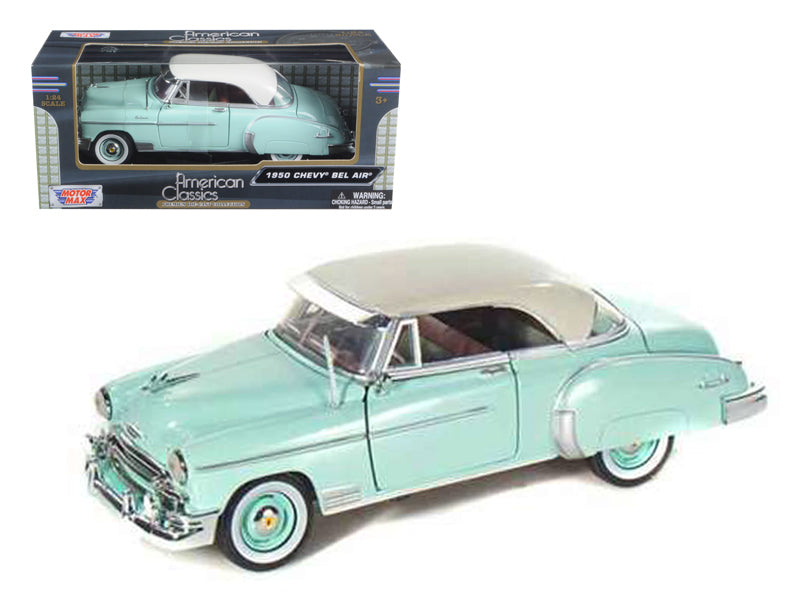 1950 Chevrolet Bel Air Green 1:24 Diecast Model