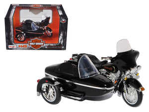 1998 Harley Davidson FLHT Electra Glide w/ Side Car 1:18 Model - 76400