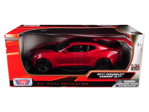 2017 Chevrolet Camaro ZL1 Red 1:24 Diecast Model - 79351RD