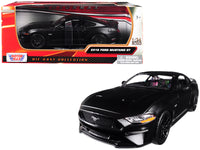 2018 Ford Mustang GT 5.0 Matt Black 1:24 Diecast Model