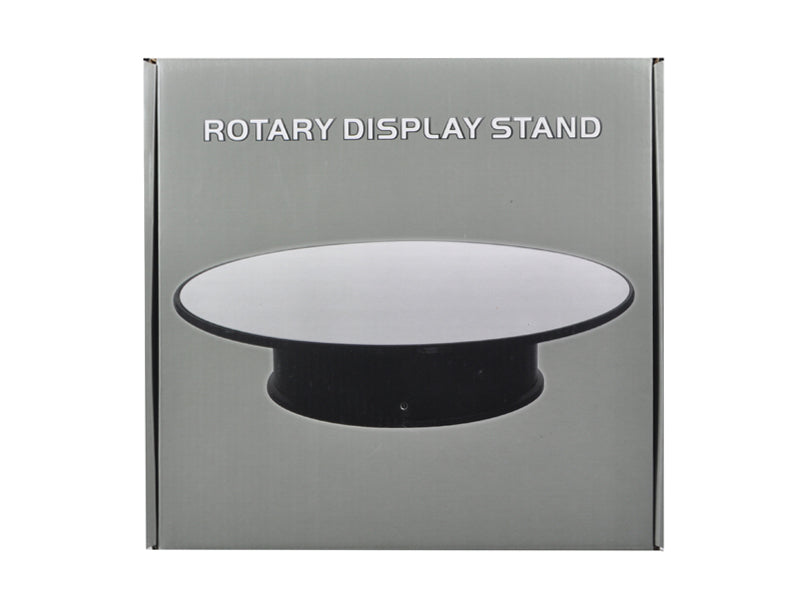 "Rotary Display Stand 8"" For 1:24-1:64 Model Cars With Mirror Top"