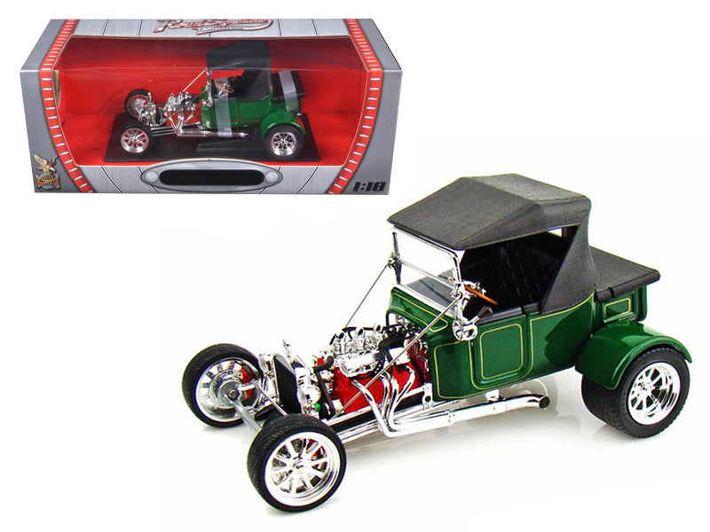 1923 Ford T-Bucket Soft Top Green 1:18 Diecast Model