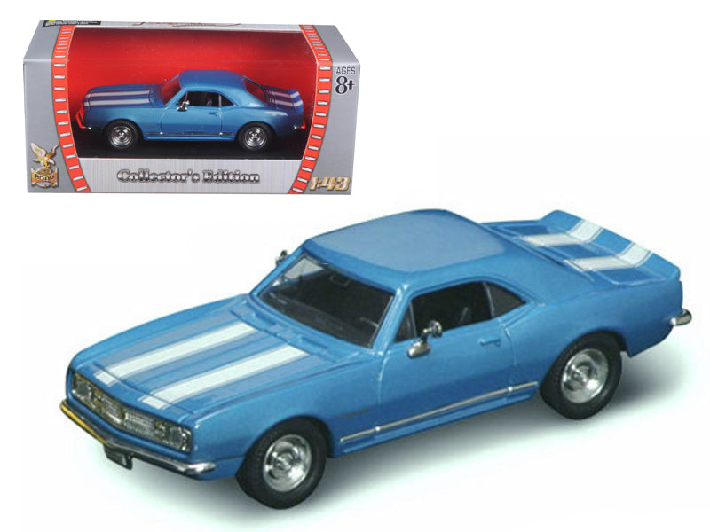 1967 Chevrolet Camaro Z-28 Blue 1:43 Diecast Model