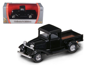 1934 Ford Pick Up Truck Black 1:43 Diecast Model