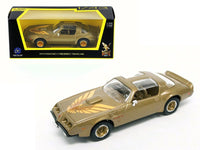 1979 Pontiac Firebird Trans Am Gold 1:43 Model