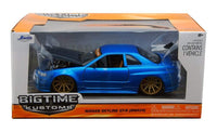2002 Nissan Skyline GTR Blue 1:24 Diecast Model