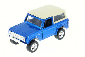 1973 Ford Bronco Blue 1:32 Diecast Model