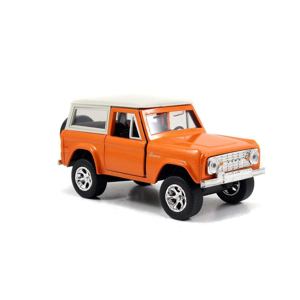 1973 Ford Bronco Orange 1:32 Diecast Model