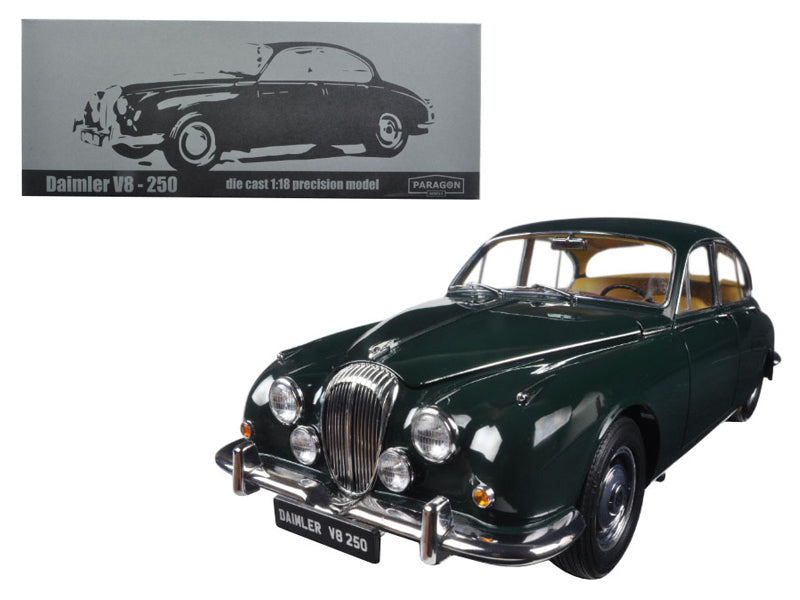 1967 Daimler V8-250 British Green Left Hand Drive 1:18 Diecast Model